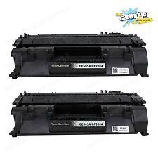 2PK  CE505A / 05A Toner Cartridge for HP LaserJet  P2035 P2035n P2055 P2055d