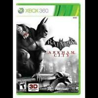 Batman Arkham City - Original Microsoft Xbox 360 Game Complete w/ Manual CIB
