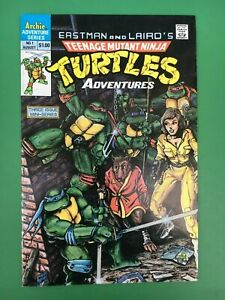 1988 TEENAGE MUTANT NINJA TURTLES Comic #1 Archie Series 1st Krang, BeBop VF/NM