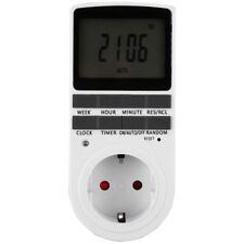 Interruptor Temporizador Digital Temporizado Enchufe Pantalla Grande Tempor K3E6