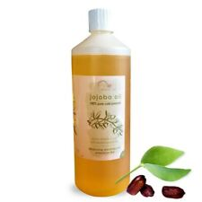 Jojoba Oil 100% Pure Golden  - Cold Pressed, Carrier, Massage Oil 1 litre