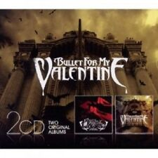 BULLET FOR MY VALENTINE - THE POISON/SCREAM AIM FIRE 2 CD 25 TRACKS METAL NEW+