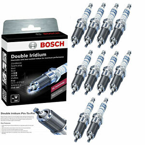 10 OE Double Iridium Spark Plug 9656 For 2003-2006 Dodge Viper SRT-10
