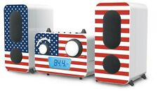 stereo Musik Anlage CD Spieler Radio USB Mp3 Flaggen DESIGNS Big Ben MCD 11 Flag