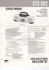 SONY - CFS-902 - Service Manual Schaltbild - B3183