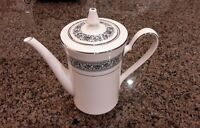 Noritake PRELUDE #7570 Ivory China Tea Pot with Lid. Gorgeous