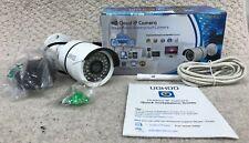 UOKOO - White HD Cloud IP Waterproof Security Camera - iSmartViewPro - HD 720