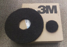 """3M Scotch-Brite Black Floor Pads For Wet Stripping 10"""" Box of 5  FN-5100-2770-2"""