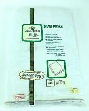 Vintage NEVA SLIP MARFIELD Pre-Shrunk MATTRESS COVER White TWIN Zipper