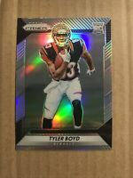 2016 TYLER BOYD PANINI PRIZM SILVER REFRACTOR ROOKIE RC BENGALS #270
