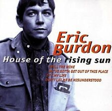 Eric Burdon House of the rising sun (compilation, 19 tracks, 1998, digita.. [CD]