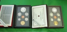 1994 1995 Canada Silver Proof Set