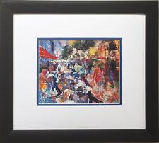 "LeRoy Neiman ""Fouquet's"" Newly CUSTOM FRAMED Print PARIS Hotel Cafe Restaurant"