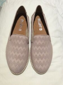 Silent D Django Juliette Nix Leather Light Pink Flats New SZ 36 #64 RRP $149.95