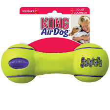 Air Kong Dog Tennis Fetch Play Toy - Squeakey Dumbbell Medium
