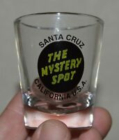 Nice SANTA CRUZ California CA The Mystery Spot Shot Glass MINTY Rare