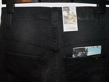 NUDIE THIN FINN BLACK BRUTUS JEANS NJ1002334 W28 L30 (4439)