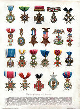 DRAWN BY TIFFANY & CO. - NATIONAL COATS OF ARMS  - AMERICAN CHROMO-LITHO (1903)
