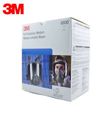 Original 3M 6800 Full Facepiece Reusable Respirator 3M full face Gas Mask Medium