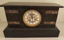 Antique Working 1867 Japy Freres French Victorian Open Escapement Mantel Clock