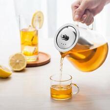Glass Teapot with Infuser 950ml/32oz Tea kettle Loose Leaf Tea Pot Stovetop Safe