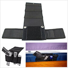 Car Seat Pistol Holder Handgun Holster under Mattress Bedside Gun Case Durable