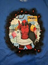 Loot Crate Wear Marvel Deadpool 2 Pool Party Cannonball Womens XL T-Shirt NEW