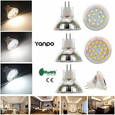 LED Bulbs Spotlight MR11 White 2835 SMD 10W 15W Halogen Lamp Replacement 12-24V