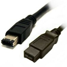 3' IEEE1394 9P Male - 6P Male Firewire 800 cable