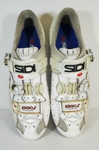 Sidi Limited Edition Ergo 2 Carbon 50th Road Cycling Shoes Size EU 45 US 10.5