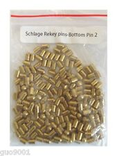 200 Pieces Schlage Rekey Bottom Pins 2 Locksmith Rekeying Pin Key Kits
