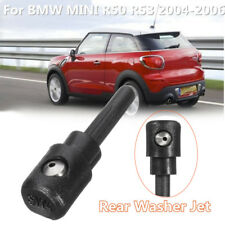 Rear Window Wiper Warm Washer Jet Nozzle Black For BMW MINI R50 R53 2004-2006