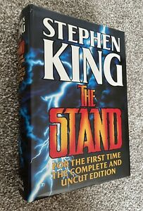The Stand Complete & Uncut - Stephen King - True 1st Edition - Hodder - 1990