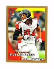 Roddy White 2010 Topps, (Gold), /2010, Football Card !!