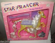 #9171 RARE NRFB Vintage Marchon Star Prancer the High Style Horse - Sunglow