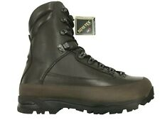 More details for new combat cold wet weather brown leather gore-tex boots.