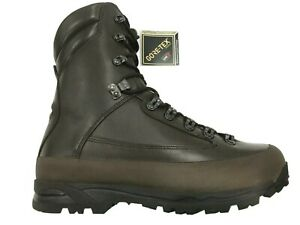 NEW Combat Cold Wet Weather Brown Leather Gore-Tex Boots.