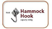 2x NEW SINGLE HOOKS for HAMMOCKS & HANGING CHAIR