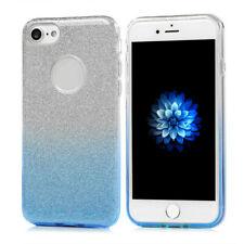Shinning OMBRE Asus Zenfone Max M2 Schutz Handy Tasche Hülle Shine Case Blau