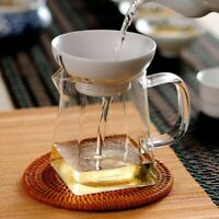 Kettle Set Cup Square Glass Bottom Tea Set Flower Tea Teapot Convenient Durable