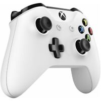 Official Microsoft Xbox One S X Windows Wireless Bluetooth Controller - White
