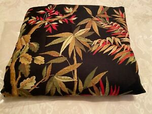New Tommy Bahama Black Floral Cotton Duvet Cover Full/Queen