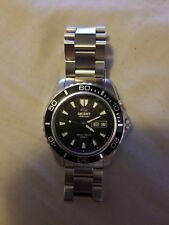 Orient Men's Automatic Stainless Steel Watch - Mako XL Black Dial Dive #CEM7500