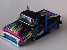 New AW B 1956 Ford F-100 Pick Up HO Slot Car Body Fits Auto World 4 Gear Chassis