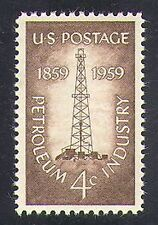 USA 1959 Petroleum Industry/Oil/Oil-well/Drilling/Derrick/Minerals 1v (n37268)