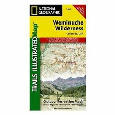 National Geographic Trails Illustrated Map Ser.: Weminuche Wilderness by National Geographic Maps Staff (2019, Sheet Map, Folded)