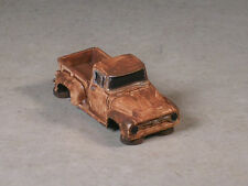 HO Scale White Rusted Out 1956 Ford Pickup