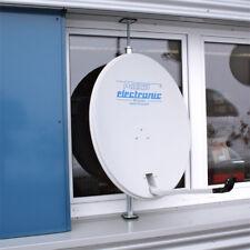 Fensterhalter für Sat Spiegel Fensterhalterung Halter aus Stahl / Rahmenhalter