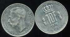 LUXEMBOURG  10 francs 1976  ( bis )