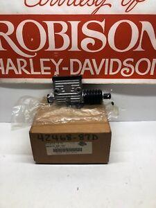 NOS Harley Davidson OEM 42468-87D Rear Brake Master Cylinder New In Box FLST
